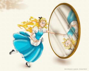 Attraverso lo specchio insegnamenti da alice per tornare - Alice e lo specchio ...