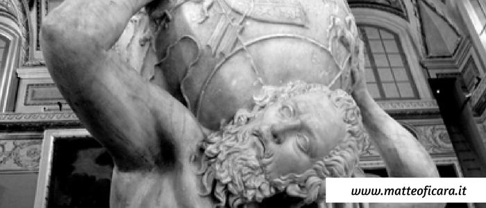 Il mito di Atlante e gli Eroi titanici. Il fallimento come soluzione.