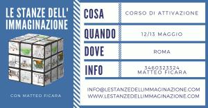ROMA   Attivazione Le Stanze dell'Immaginazione @ da definirsi   Roma   Lazio   Italia