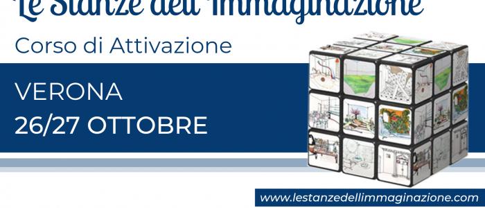 VERONA Attivazione Le Stanze dell'Immaginazione 26/27 ottobre 2019