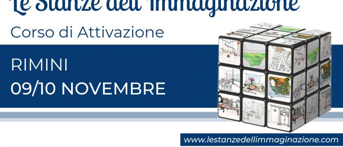 RIMINI Attivazione Le Stanze dell'Immaginazione 09/10 novembre 2019