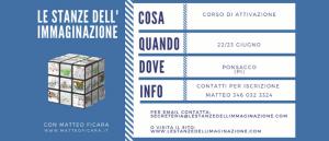 PISA Ponsacco | Attivazione Le Stanze dell'Immaginazione 22/23 Giugno @ Galleria Aringhieri | Ponsacco | Toscana | Italia
