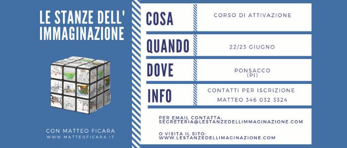 PISA Ponsacco | Attivazione Le Stanze dell'Immaginazione 22/23 Giugno
