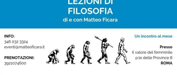 Lezioni di Filosofia | ROMA giovedì 13 febbraio • DESIDERIO | La forza di espansione e conoscenza della Psiche.