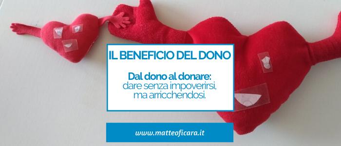 Il potere del dono. Donare senza dono è possibile. E aiuta a essere felici.